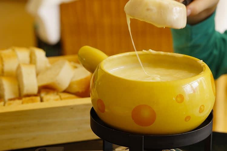 test appareil à fondue